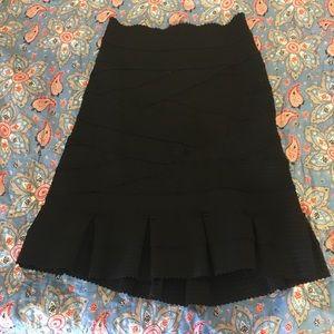 Girls From Savoy Bandage Skirt Sz Lg Anthropology